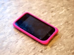 iPod Touch with pink case